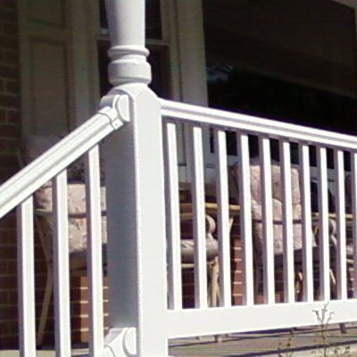 how to build a porch railing system