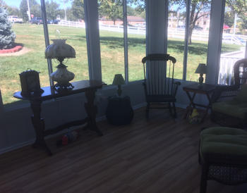 Sunroom by Security Fence - O'Connors - York, PA