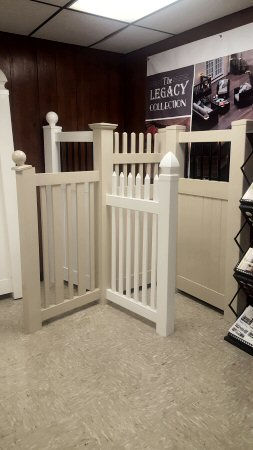 PVC fence styles, sizes, colors at Security Fence Company, Red Lion, PA